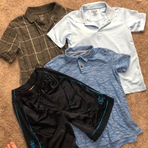 Lot of 4 boy's size range ~ 14 to 18 and Etc